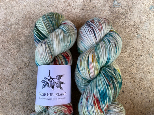 Delicious sock 'Whoville' colourway