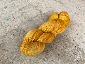 Merino singles - 'Orange' colourway
