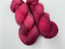 Load image into Gallery viewer, Delicious sock 'Blood red' colourway