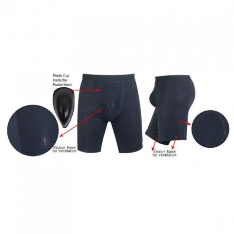 Compression Blackout Shorts