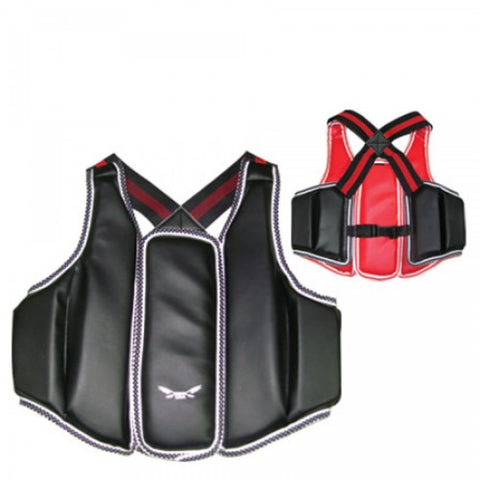 Vest Chest Guard Reversible - Boxing MMA Muay Thai Karate
