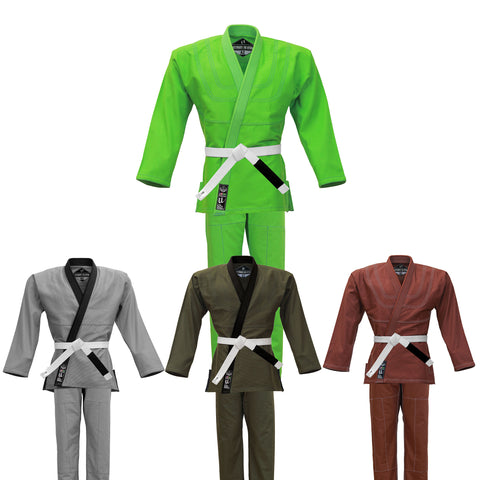Ultra Light Colored BJJ Gi - Brazilian Jiujitsu