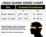 GL Head Guard Genuine Leather - Boxing MMA Muay Thai Protection Equipment