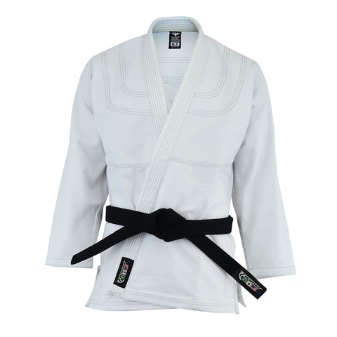 Ultra Lite BJJ Coat - Brazilian Jiu Jitsu Top - Light Weight 100% Cotton