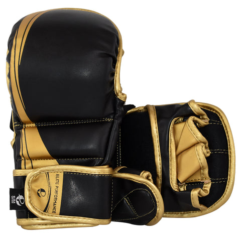 Elite Blackout Sparring Gloves - PFGSports