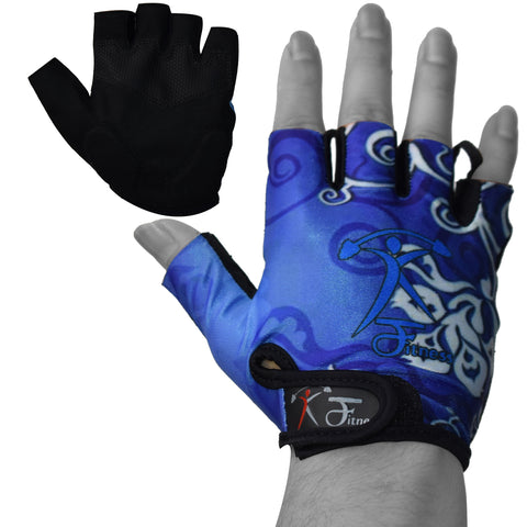Half Finger Weight Lifting Gym Exercise Gloves