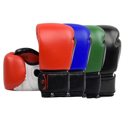 Pro Fight Gloves (Genuine Leather) - PFGSports