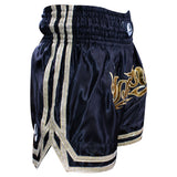Elite Blackout Muay Thai Shorts - PFGSports
