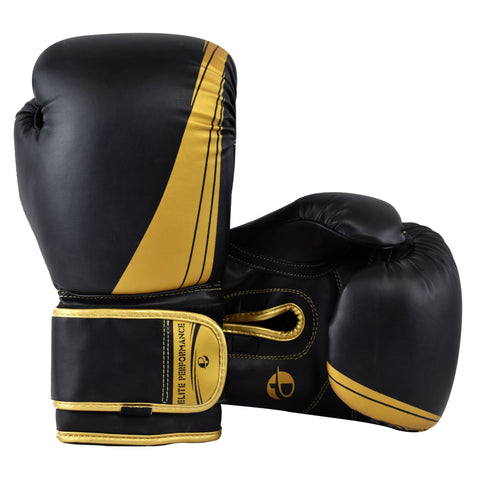 Elite Blackout Boxing Gloves - PFGSports