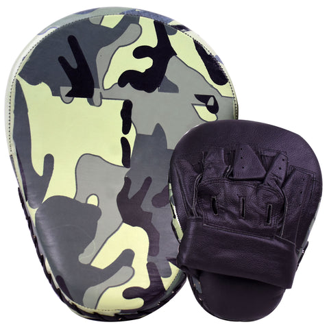 Camouflage Focus Pads Leather MMA Boxing Muay Thai Training