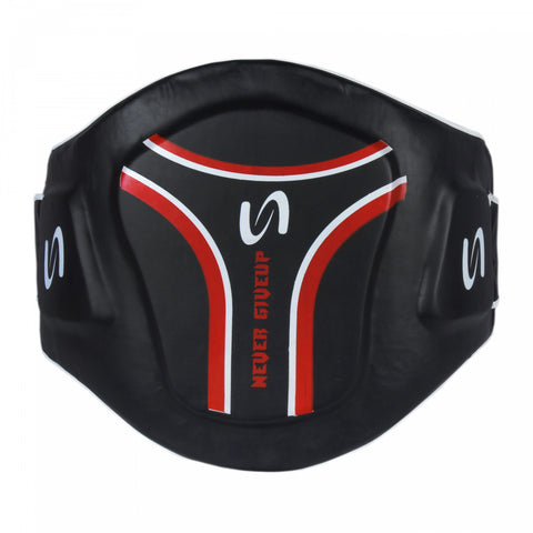 Never Giveup - Belly Protection Guard MMA Boxing Muay Thai Training