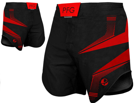 Fight Short Red / Black - PFGSports