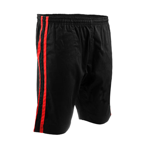 Summer - Demo Short Black With Red Stripe