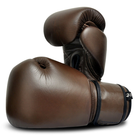 Vintage Boxing Gloves - Boxing MMA Muay Thai Training Bag Work Fight