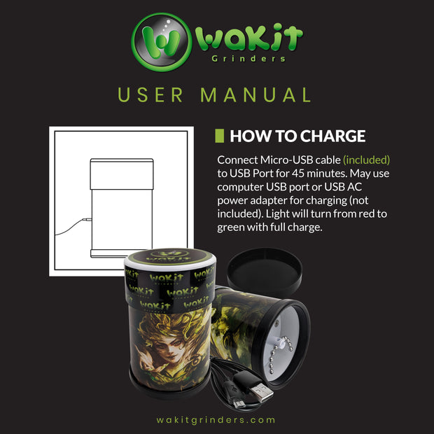 Wakit Electric Herb Grinder
