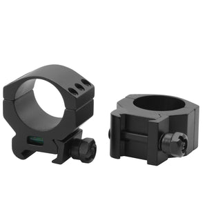 CCOP USA 30mm Picatinny-Style Tactical Scope Rings with Bubble Level (6 Screws)