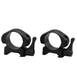 CCOP USA 1 Inch Quick-Detachable Picatinny-Style Rings Matte (2 Screws)