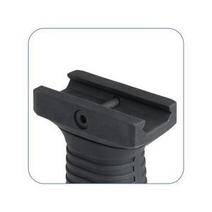 Compact Vertical Tactical Foregrip with Battery Storage