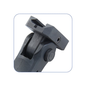 Ergonomic Ambidextrous Vertical Tactical Foregrip with Battery Storage (5 Position)