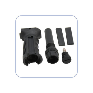 Ergonomic Ambidextrous Vertical Tactical Foregrip with Battery Storage