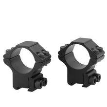 Load image into Gallery viewer, CCOP USA 1 Inch Air Gun Stop Pin Scope Rings Matte (4 Screws)
