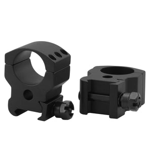 CCOP USA 1 Inch Picatinny-Style Heavy Duty Tactical Scope Rings Matte (6 Screws)