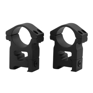 CCOP USA 1 Inch Picatinny-Style Hunting Scope Rings Matte (4 Screws)