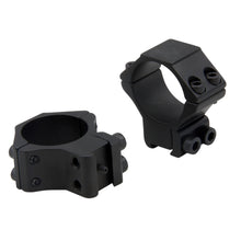 Load image into Gallery viewer, CCOP USA 30mm Air Gun Stop Pin Scope Rings Matte (4 Screws)