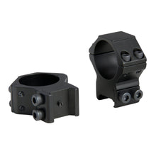 Load image into Gallery viewer, CCOP USA 30mm Weaver Rail Stop Pin Scope Rings Matte (4 Screws)