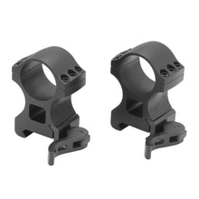Load image into Gallery viewer, CCOP USA 1 Inch Picatinny-Style Heavy Duty QD Tactical Scope Rings Matte (6 Screws)