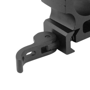CCOP USA 1 Inch Picatinny-Style Heavy Duty QD Tactical Scope Rings Matte (6 Screws)
