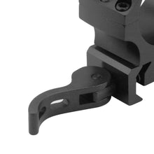 Load image into Gallery viewer, CCOP USA 30mm Picatinny-Style Heavy Duty QD Tactical Scope Rings Matte (6 Screws)