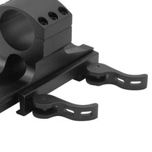 Load image into Gallery viewer, CCOP USA ArmourTac 1 Inch Riflescope Picatinny QD Mount Rings (Quick Detach)