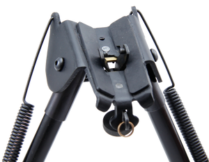 CCOP USA Spring Return Bipod with Adjustable Notch Legs (Swivel Stud Mount)