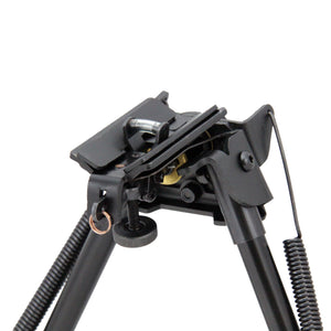 CCOP USA Spring Return Pivot Bipod with Adjustable Notch Legs (Swivel Stud Mount)
