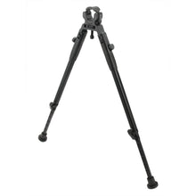 "Load image into Gallery viewer, CCOP USA 11"" to 14"" Folding Barrel Clamp Mount Bipod with Adjustable Legs"