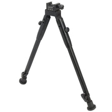 "Load image into Gallery viewer, CCOP USA 11"" to 14"" Folding Picatinny Mount Bipod with Adjustable Legs"
