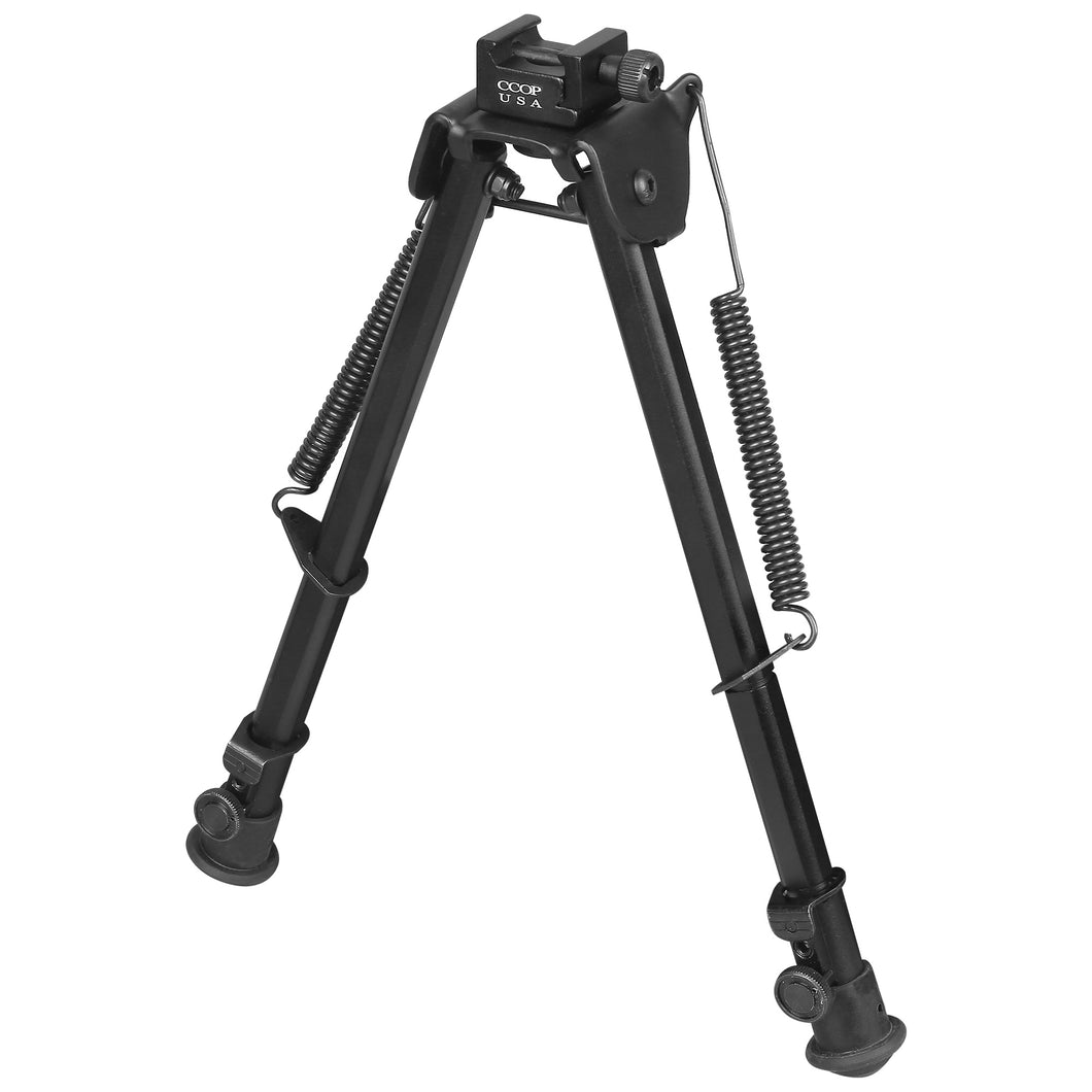 CCOP USA Heavy Duty Picatinny Mount Bipod with Swivel Stud Adapter