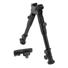 Load image into Gallery viewer, CCOP USA Folding Picatinny QD Mount Bipod with Swivel Stud Adapter (Quick Detach)