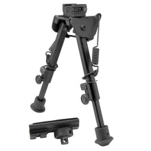 Load image into Gallery viewer, CCOP USA Heavy Duty Picatinny QD Mount Bipod with Swivel Stud Adapter (Quick Detach)