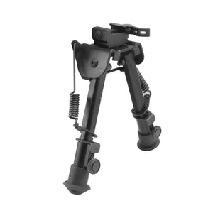 CCOP USA Heavy Duty Picatinny QD Mount Bipod with Swivel Stud Adapter (Quick Detach)