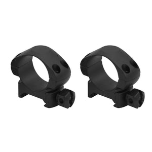 CCOP USA 1 Inch Picatinny-Style Tactical Scope Rings Matte (4 Screws)