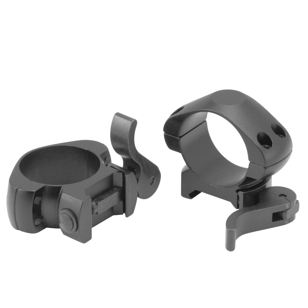 CCOP USA 30mm Picatinny-Style Quick Detach Scope Rings Matte (4 Screws)