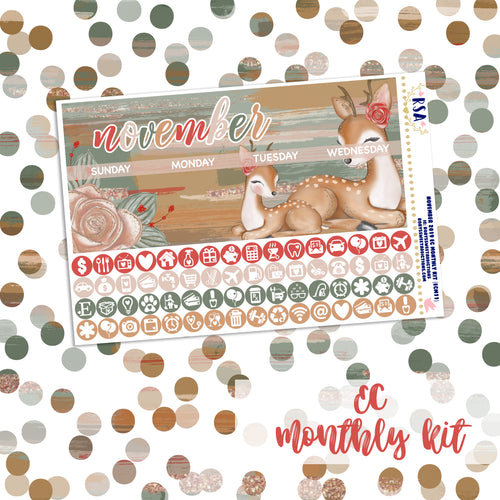 November #1 //  EC Monthly Sticker Kit