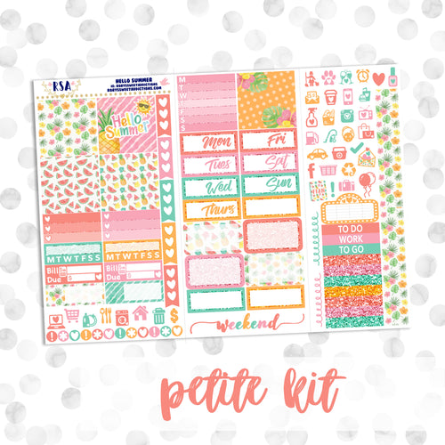 Hello Summer // Petite Kit // PP Weeks