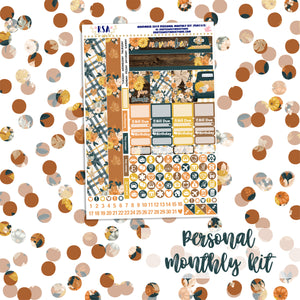 November #2 // SMC Personal Monthly Sticker Kit