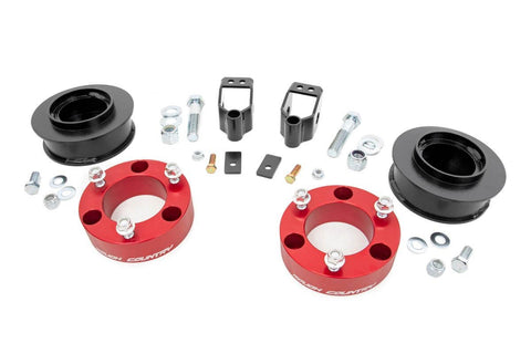 3in Toyota Suspension Lift Kit (03-09 4-Runner 4WD w/X-REAS | RED)