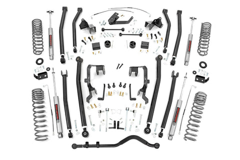 4in Jeep Long Arm Suspension Lift Kit (07-11 Wrangler JK | 4-door)