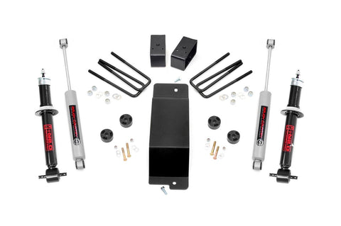 3.5in GM Suspension Lift Kit | N2.0 Struts (14-16 1500 PU 4WD | Cast Steel)