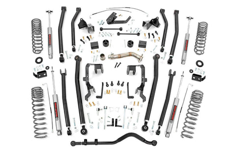 4in Jeep Long Arm Suspension Lift Kit (12-18 Wrangler JK | 4-door)